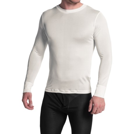 Terramar Sportsilks Base Layer Top - Crew Neck, Long Sleeve (For Men)