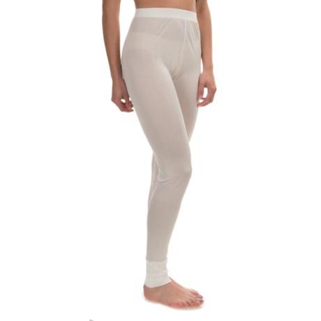 Terramar Sportsilks Base Layer Pants (For Women)