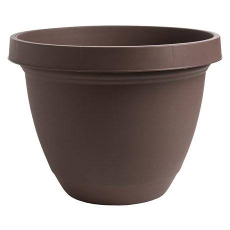 """Akro-Mils Infinity Indoor/Outdoor Planter Pot - 16"""""""