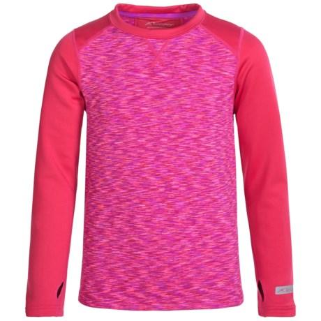 Terramar ClimaSense® 3.0 Fleece Base Layer Top - UPF 50+, Long Sleeve (For Little and Big Kids)