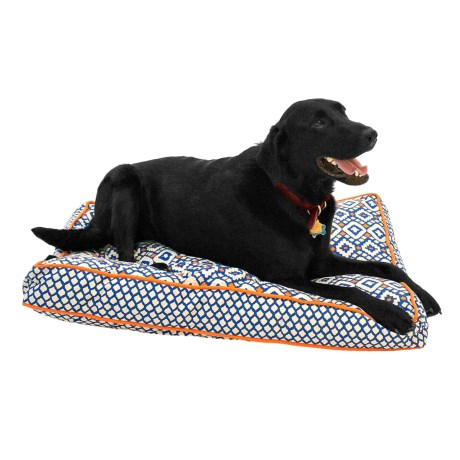 "Cynthia Rowley Aztec Rectangle Dog Bed - 27x36"""