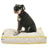 "Cynthia Rowley Aztec Rectangle Dog Bed - 28x19"""