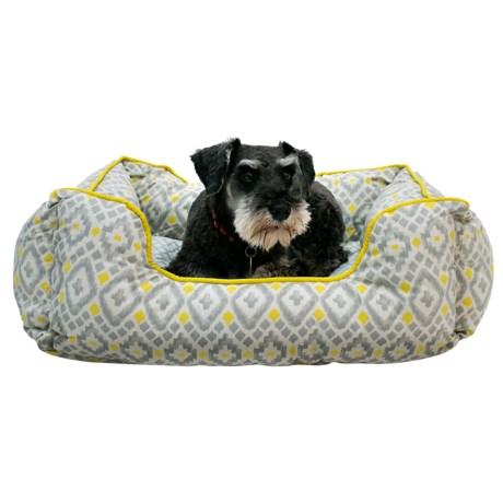 "Cynthia Rowley Aztec Lounger Dog Bed - 28x22"""