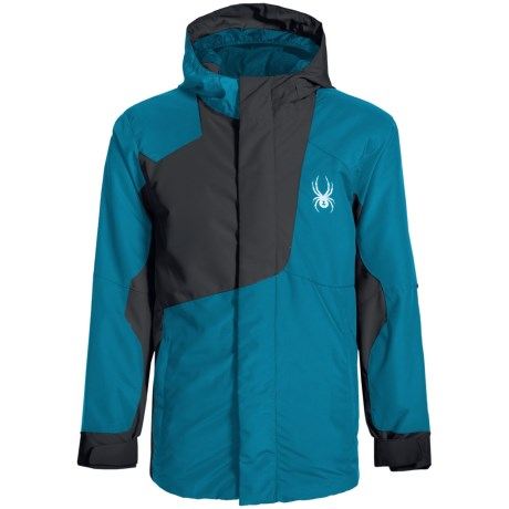 Spyder Flyte Color-Block Jacket - Waterproof, Insulated (For Big Boys)