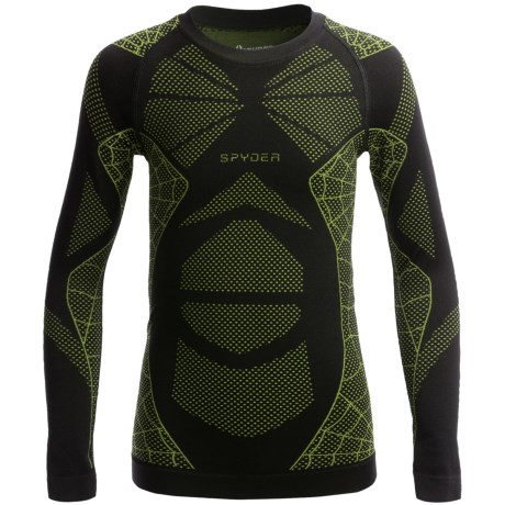 Spyder Racer Base Layer Top - Long Sleeve (For Little and Big Boys)