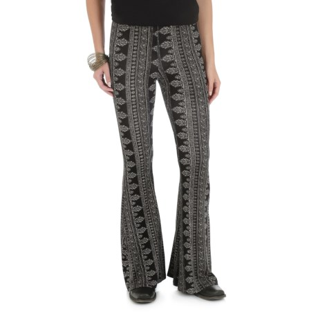 Wrangler Fit & Flare Palazzo Pants (For Women)