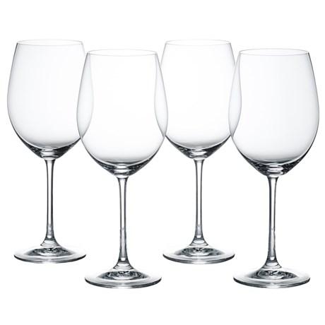 Nachtmann Vivendi Bordeaux Red Wine Glasses - Set of 4