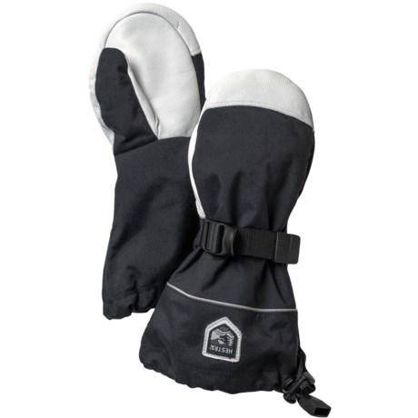 Hestra Kebnekaise Swisswool Merino Wool Mittens - Waterproof, Insulated (For Little and Big Kids)