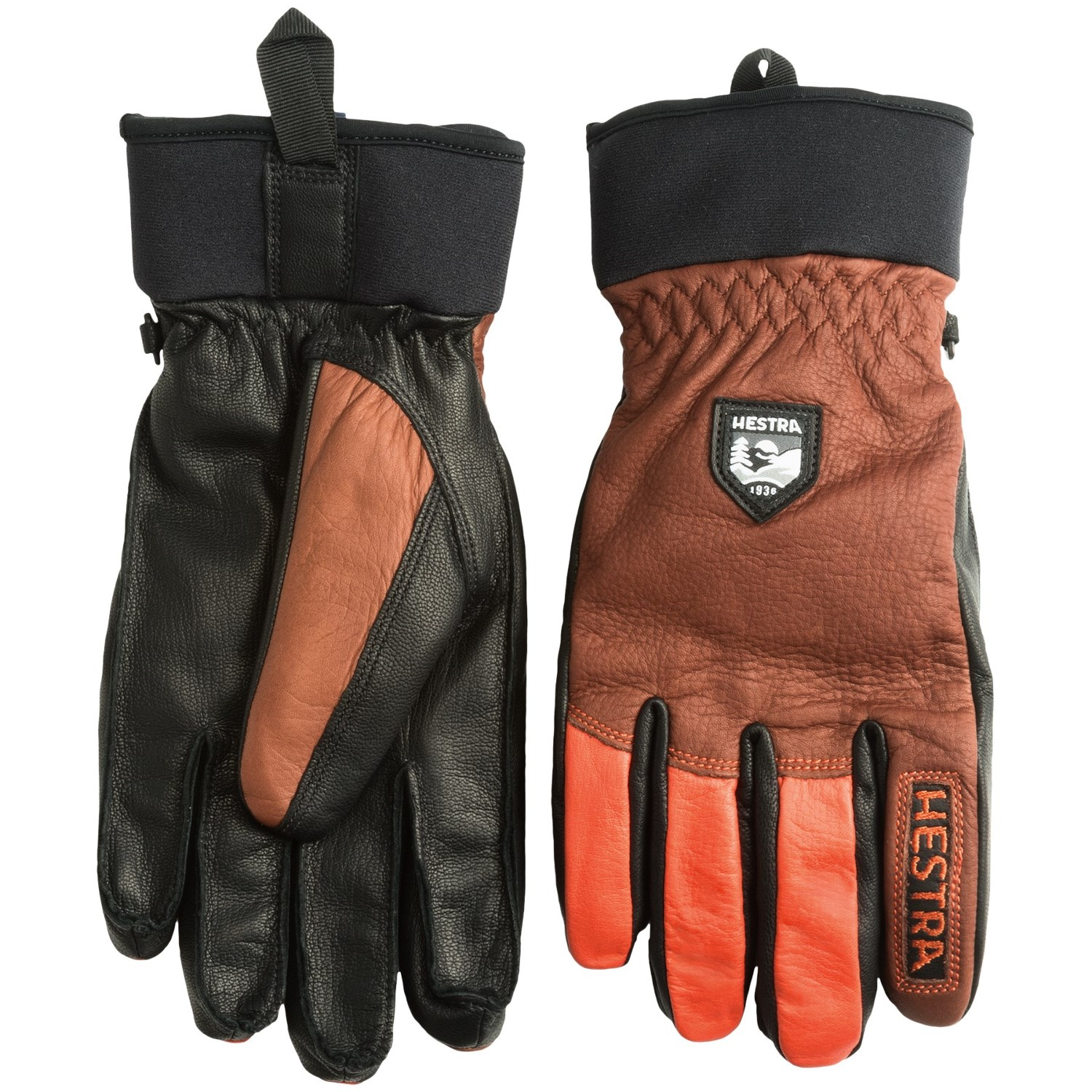 Ladies leather gloves wool lined - Hestra Army Leather Gloves Removable Wool Lining For Men And Women Click To Expand