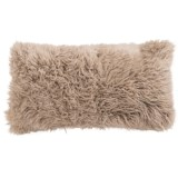 Auskin Curly Longwool Sheepskin Pillow - 11x22""
