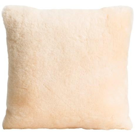 "Auskin Shearling Decor Pillow - 14x14"""