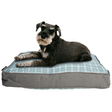 """Telluride Tattersall Rectangle Dog Bed - 28x19"""""""