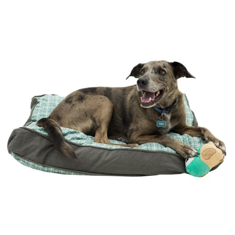 Telluride Tattersall Rectangle Dog Bed - 27x36""