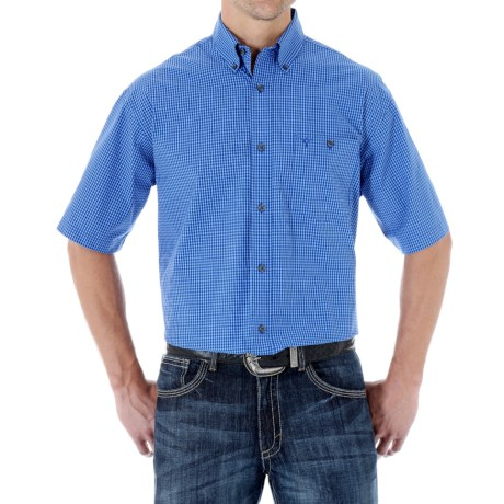 Wrangler 20X Shirt - Button Front, Short Sleeve (For Men)