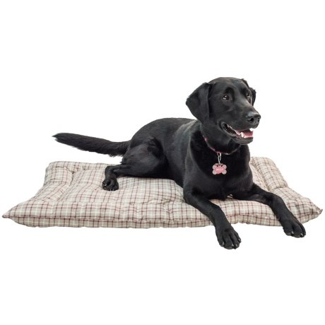 Telluride Tattersall Dog Crate Mat - Large, 36x23""