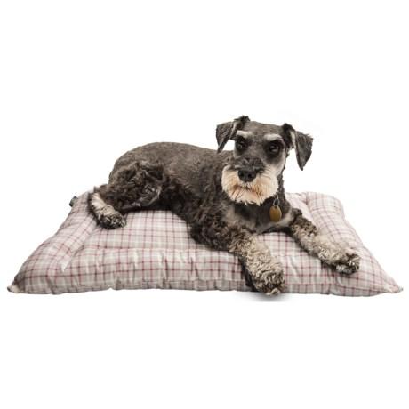 """Telluride Tattersall Dog Crate Mat - Small, 24x18"""""""