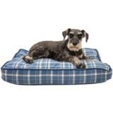"""Telluride Camp Plaid Rectangle Dog Bed - Medium, 28x19"""""""
