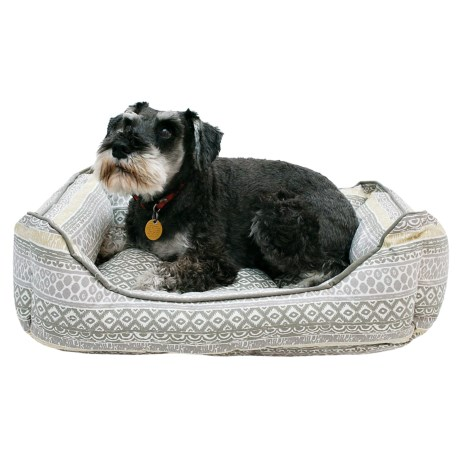 """Cynthia Rowley Hudson Stripe Cuddler Dog Bed - 24x19"""""""