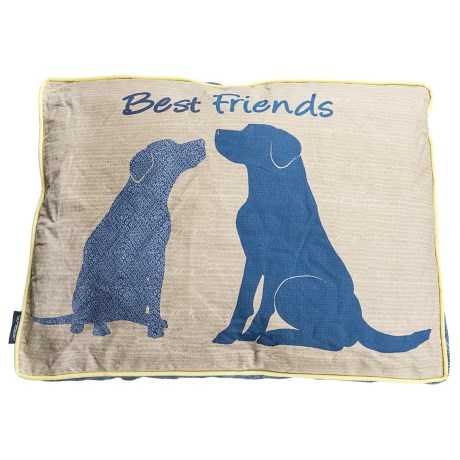 """Humane Society Best Friends Rectangle Dog Bed - 36x27"""""""
