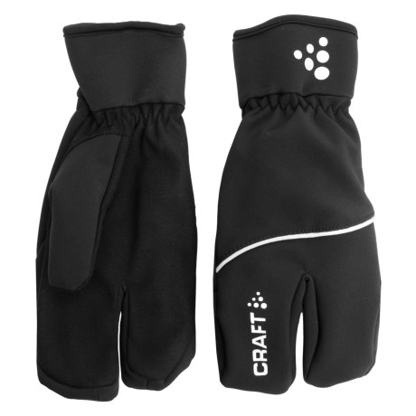 Craft Sportswear Split Finger Gloves (For Men and Women)