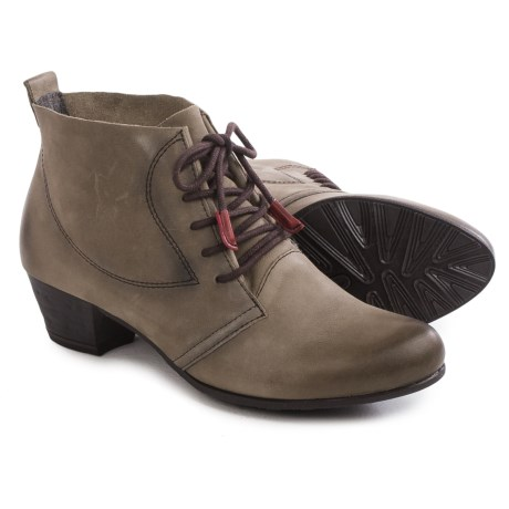 Tamaris Ankle Boots - Leather, Lace-Ups (For Women)