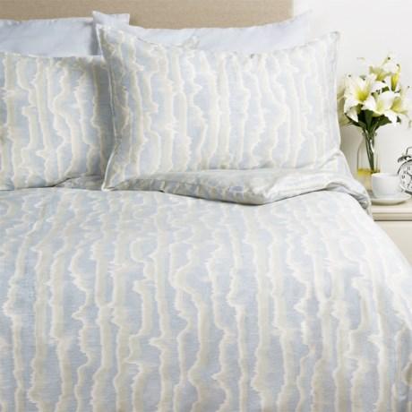 Barbara Barry Mirage Watermark Sateen Comforter Set - Queen