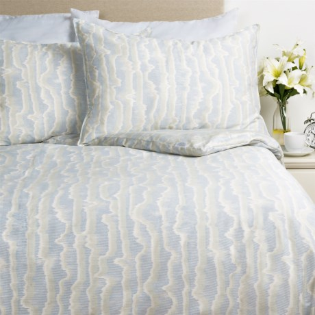 Barbara Barry Mirage Watermark Sateen Comforter Set - Queen