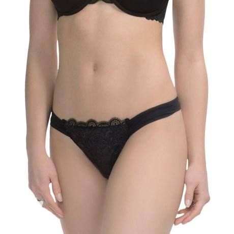 Ella Moss Stella Sheer-Waist Panties - Thong (For Women)