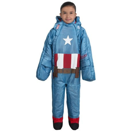 Selk'bag selk'bag 45°F Marvel Superhero Wearable Sleeping Bag (For Little and Big Kids)