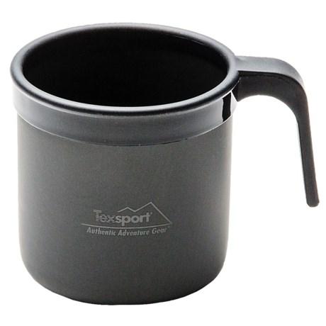 Texsport Black Ice Anodized Aluminum Cup - 14 fl.oz.