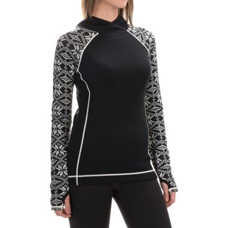 Telluride Nordic Pattern Hoodie - Merino Wool (For Women)