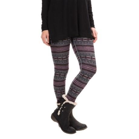 Telluride Knit Leggings - Merino Wool (For Women)