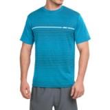 Prince Horizontal Stripe T-Shirt - Crew Neck, Short Sleeve (For Men)