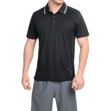 Prince Solid Polo Shirt - Short Sleeve (For Men)