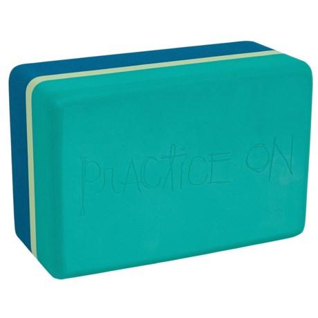 Manduka Unblok Recycled Foam Yoga Block