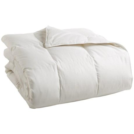 DownTown Summerfield Hungarian White Goose Down Comforter - Super Queen