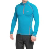 Rab DRYflo® Midweight Base Layer Top - Zip Neck, Long Sleeve (For Men)