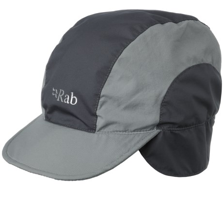 Rab Vapour-Rise Lite Cap - Ear Flaps, Tricot Lined (For Men)