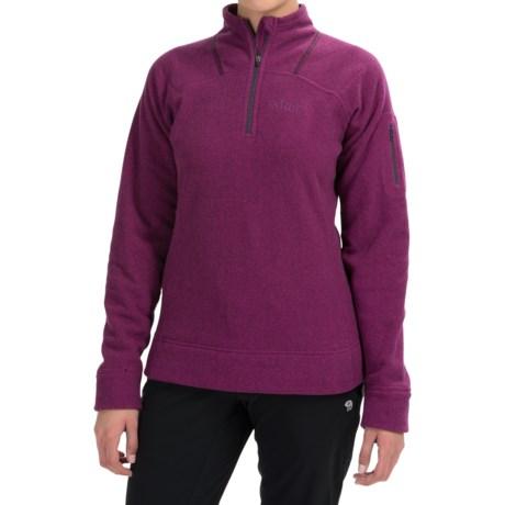 Rab Eclipse Fleece Jacket - Zip Neck (For Women)