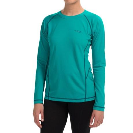 Rab DRYflo®120 Base Layer Top - Long Sleeve (For Women)