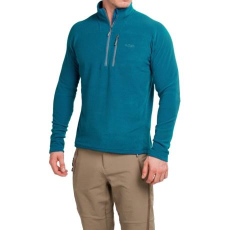 Rab Orbit Polartec® Microfleece Shirt - Zip Neck, Long Sleeve (For Men)