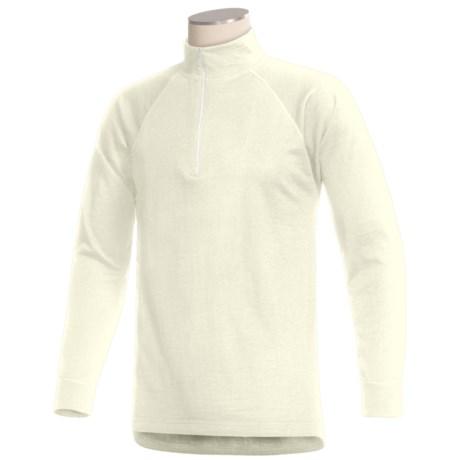 Woolskins by Terramar Long Underwear Shirt - Mock Turtleneck, Long Sleeve (For Men)
