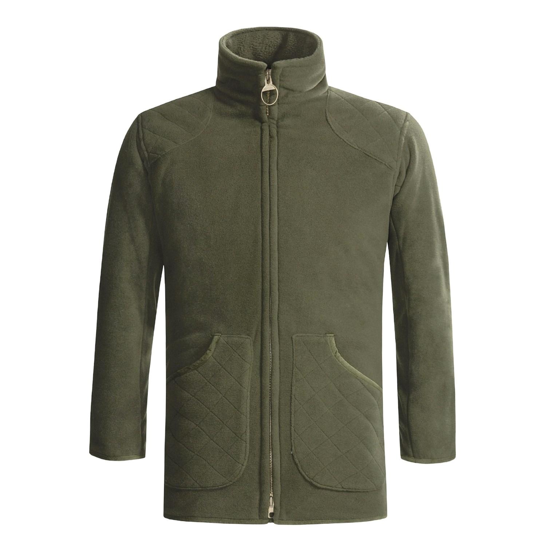Barbour Dunmoore Fleece Shooting Jacket (For Men) 1432D ...