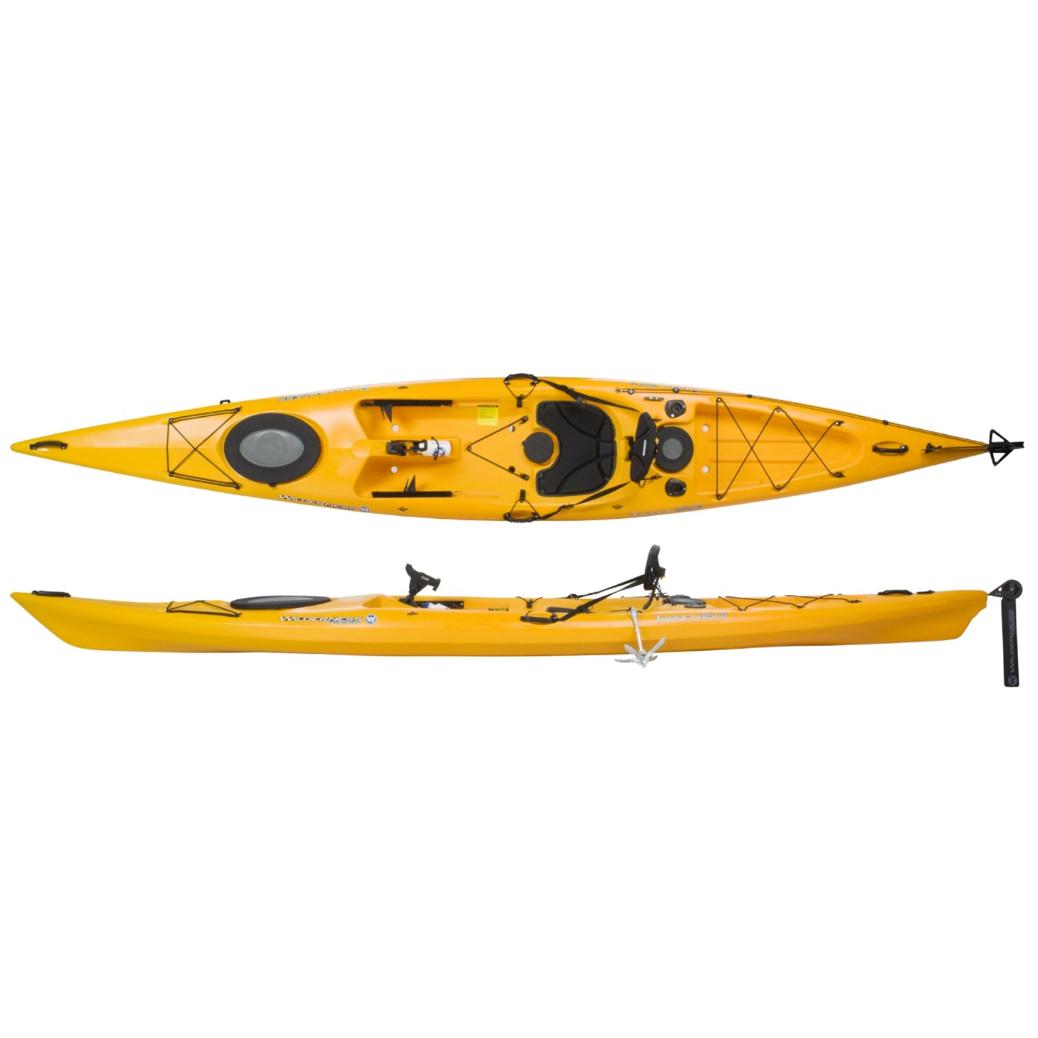 Wilderness systems tarpon 160i angler fishing kayak with for Wilderness systems fishing kayaks