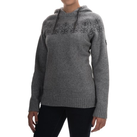 Ivanhoe of Sweden Moa Wool Hooded Sweater (For Women)