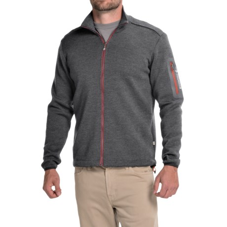 Ivanhoe of Sweden Assar Sweater- Merino Wool, Full Zip (For Men)