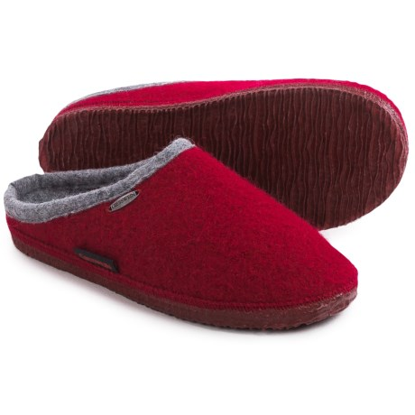 Giesswein Abend Boiled Wool Slippers (For Women)