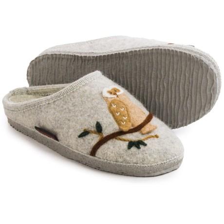 Giesswein Mado Boiled Wool Slippers (For Women)
