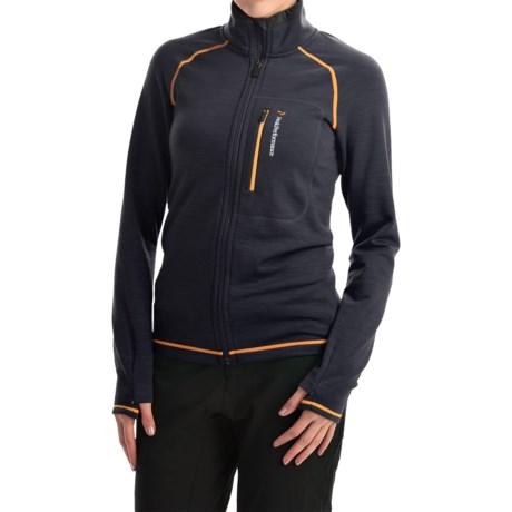 Peak Performance Heli Mid Jacket - Wool Blend (For Women)