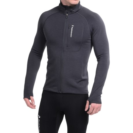 Peak Performance Heli Mid Jacket - Full Zip (For Men)
